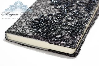 Diary gray with black