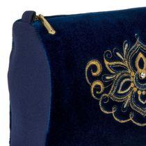 Velvet cosmetic bag 'Game'