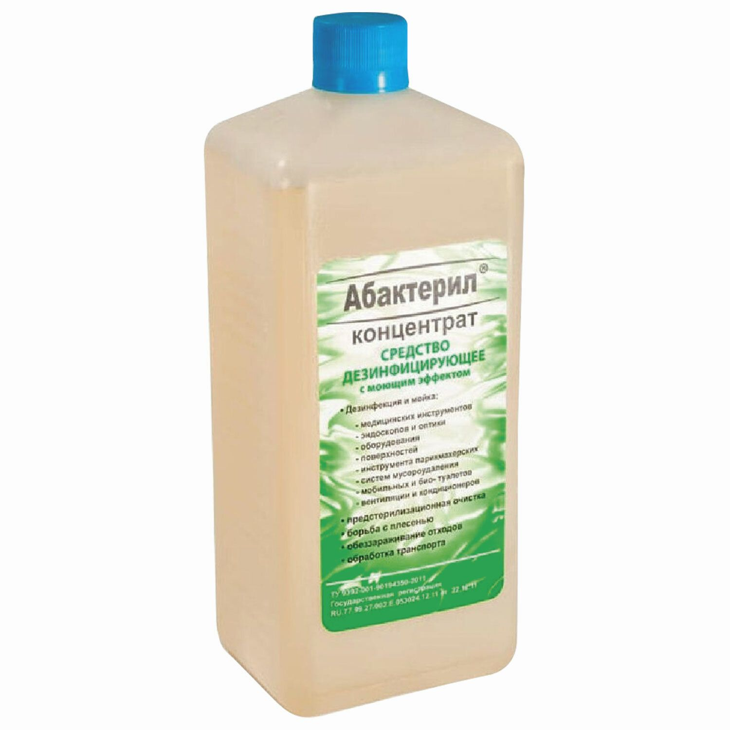 ABACTERIL / Disinfectant concentrate with lid, 1 l