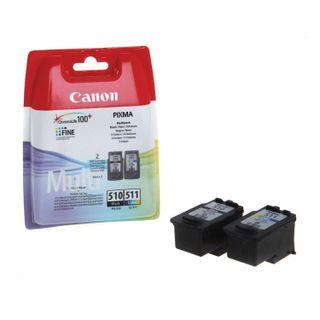 PIXMA MP240 / 250/260 / MX320 inkjet cartridge CANON (PG-510 / CL-511), black and color, 264 pages, original