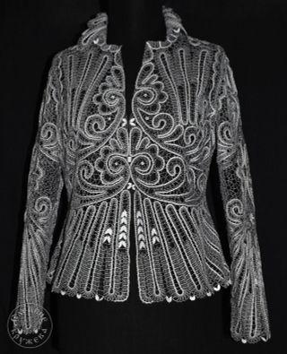 Jacket women's lace С438