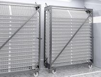 Incubator carts and trays
