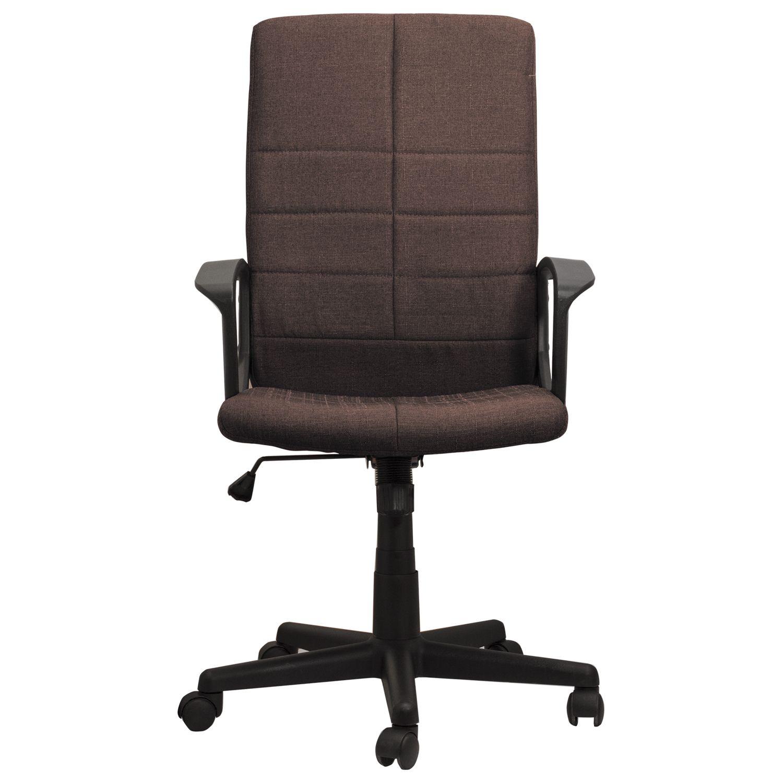 "Office chair BRABIX ""Focus EX-518"", fabric, brown"