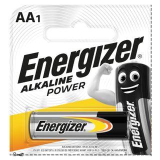 ENERGIZER / Battery ENERGIZER Alkaline Power, AA (LR06, 15A) alkaline finger, 1 pc. in a blister (tear-off block)