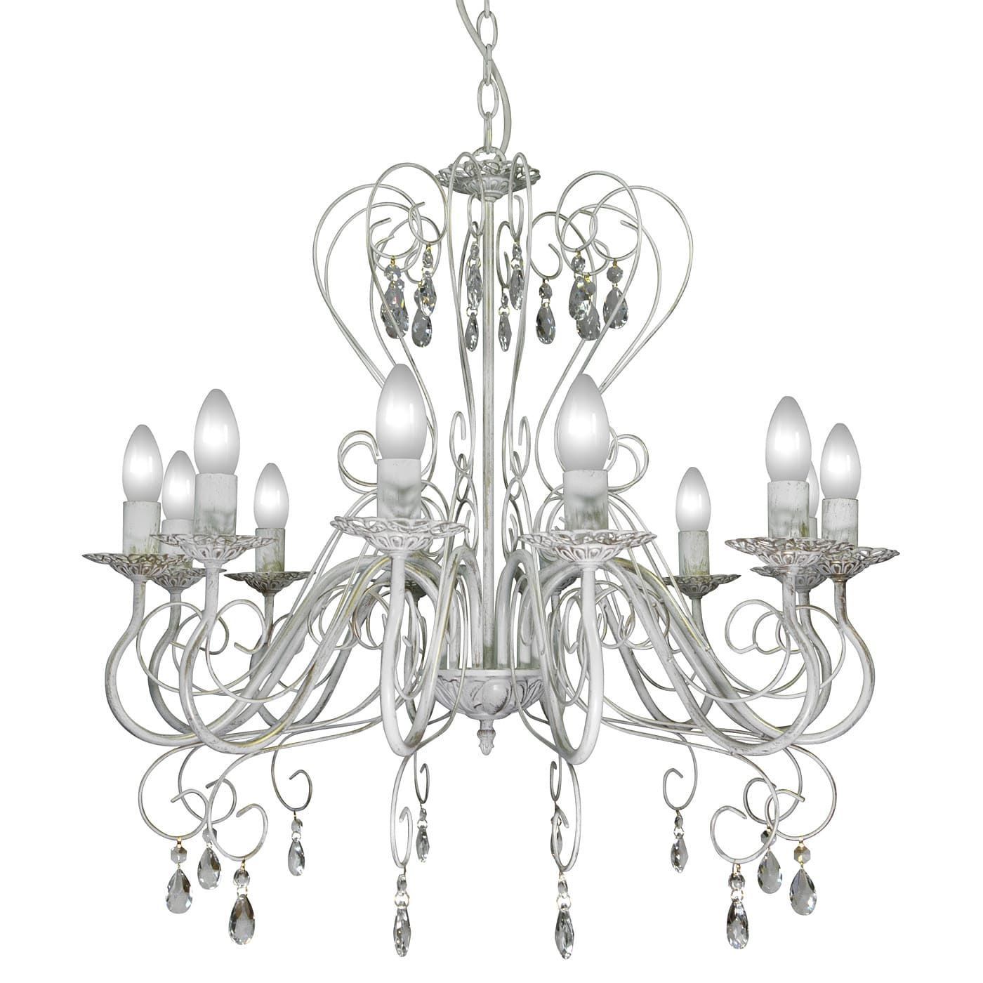 PETRASVET / Pendant chandelier S1021-12, 12xE14 max. 60W