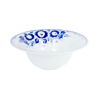 Bowl large Grushenka 2nd grade, Gzhel Porcelain factory