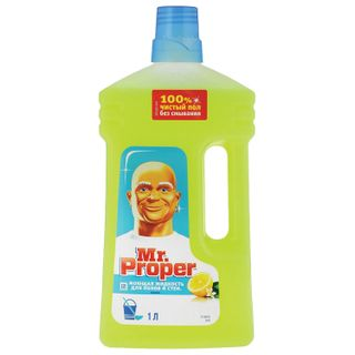 "Floor and wall cleaner MR. PROPER (Mister Proper) ""Lemon"" 1 l"