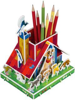 3D puzzle pencil: Faithful friends