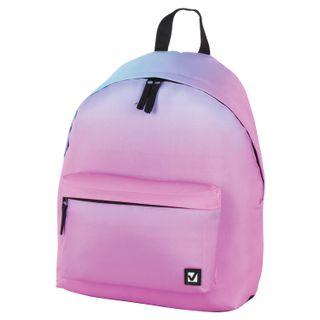 Backpack BRAUBERG, universal, city size, Gradient, 20 liters, 41х32х14 cm