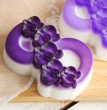 Olive soap gift 8 March Orchid 001