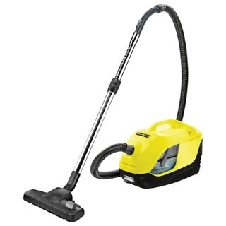 Vacuum cleaner KARCHER (KARCHER) DS 6, with Aqua, potrebama power 650 W, yellow