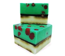 Handmade bar soap with herbs Raspberry 500 gr