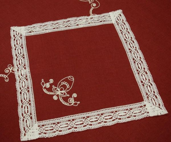 Napkin 'Easter' embroidery