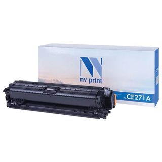 Laser Cartridge NV PRINT (NV-CE271A) for HP CP5525dn / CP5525n / M750dn / M750n, cyan, yield 15,000 pages