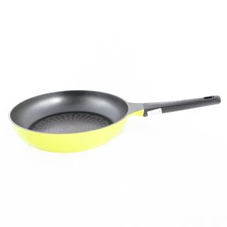 Frying pan with non-stick coating