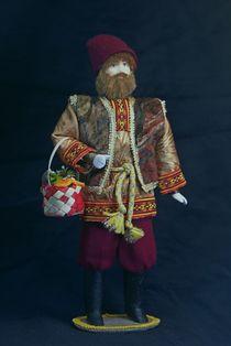 Doll gift porcelain. September. Fairy tale character.