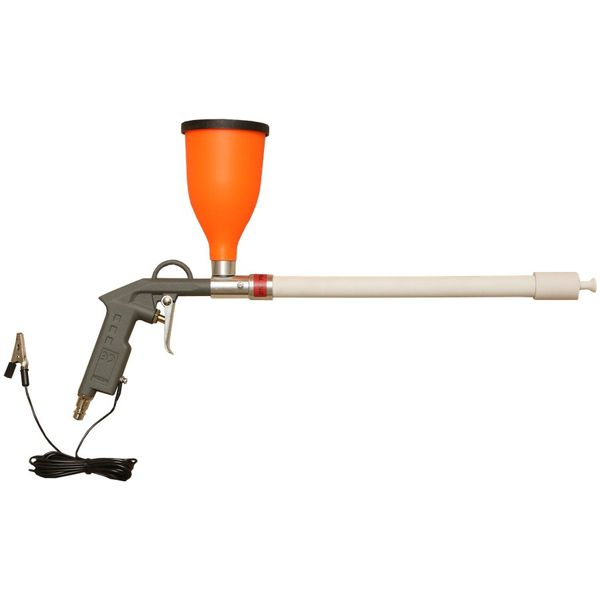 Start-50-tribo - tribostatic gun with a funnel