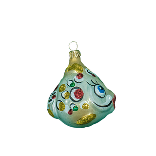 Figurine molded Fish No. 2 - Christmas toy