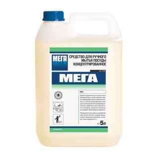 Dishwashing liquid 5 l, MEGA, concentrate