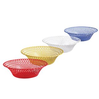 IDEA / Round basket for fruits and rusks, diameter 25 cm, assorted color