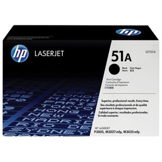 Toner cartridge HP (Q7551A) LaserJet M3035 / 3027 / P3005 and others, # 51A, original, yield 6500 pages