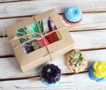 Set of handmade soap Montpensier in the box