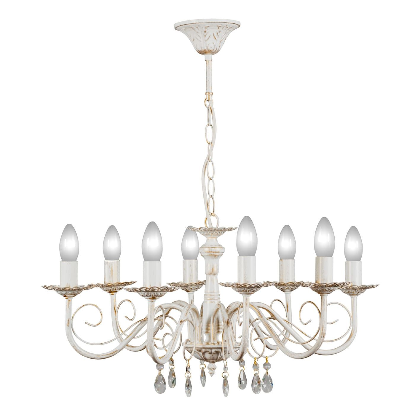 PETRASVET / Pendant chandelier S1019-8, 8xE14 max. 60W