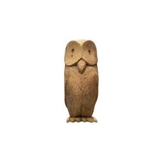 Figurine wooden Owl