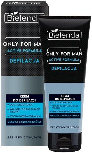 Depilatory cream for men , BIELENDA OFM , 100ml