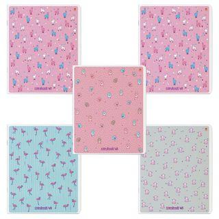 "Notebook A5 48 sheets ALT staple, cage, Soft Touch, foil, ""Zephyr Mood"""