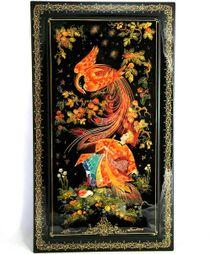 Lacquer miniature panels Firebird