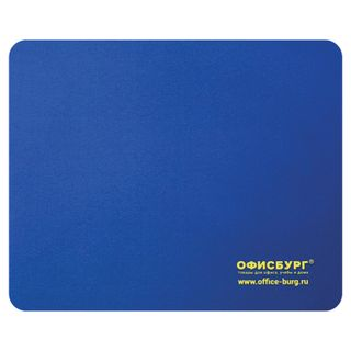OFFICEBURG / Mouse pad rubber + fabric, 220x180x3 mm