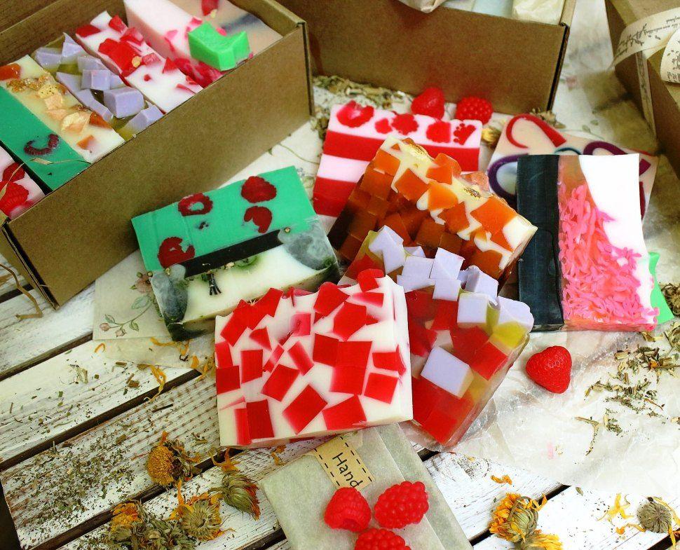 Fruit Soaps handmade Eco-Kraft