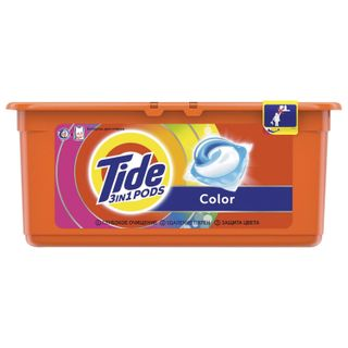 The detergent for washing in capsules 30 pieces by 24.8 g TIDE (Tide) Color