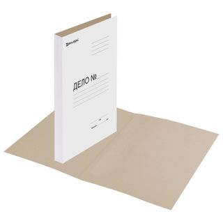 """The folder without the folder """"Business"""", cardboard, density of 440 g/m2 up to 200 sheets, BRAUBERG"""
