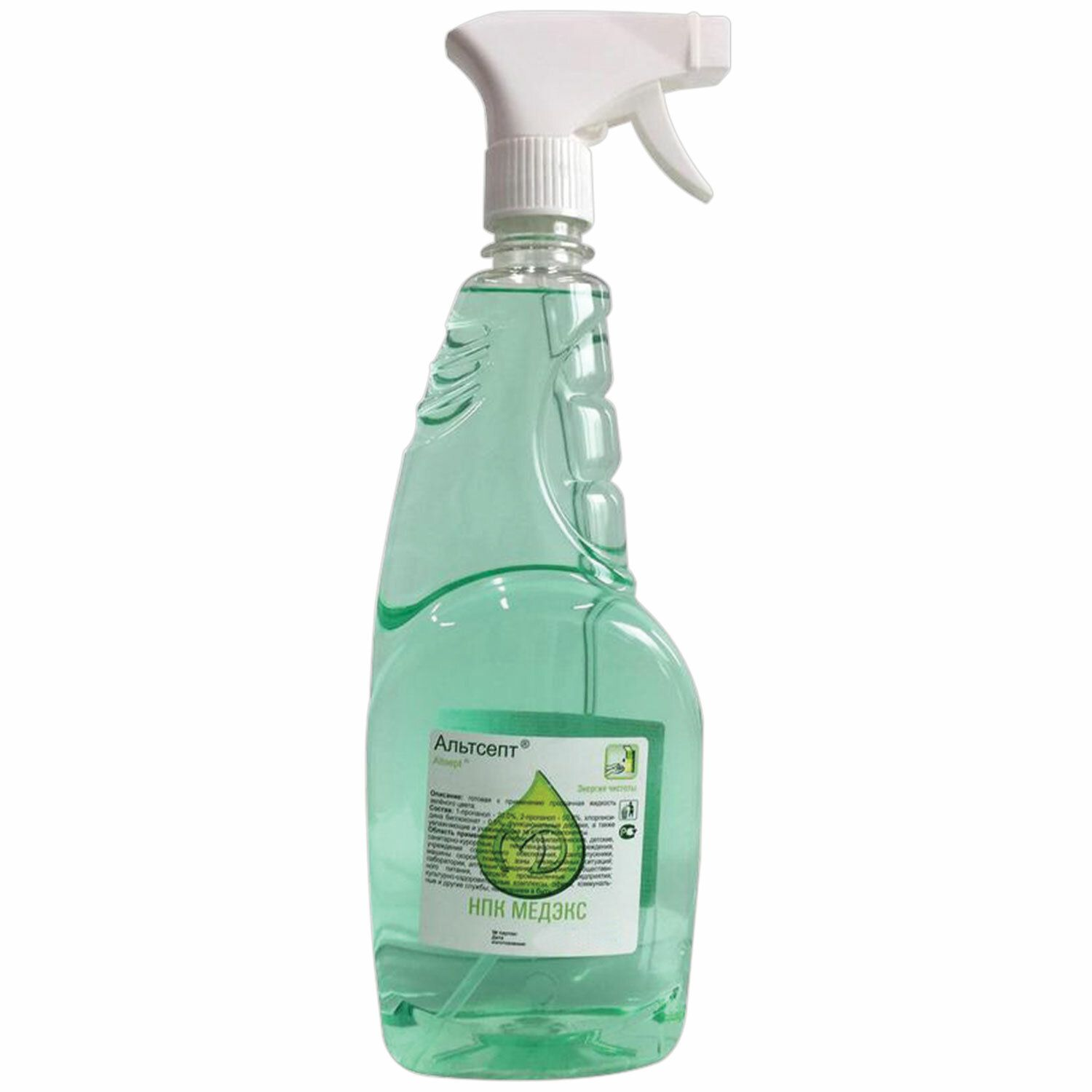 ALTSEPT / Antiseptic, skin disinfecting alcohol-containing 70% ready-made solution, spray, 750 ml