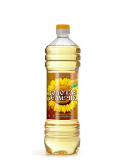 Sunflower unrefined oil