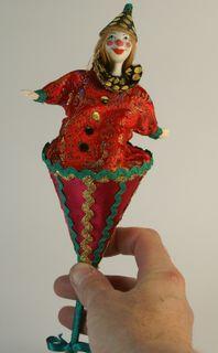 Clown. A mechanical toy.