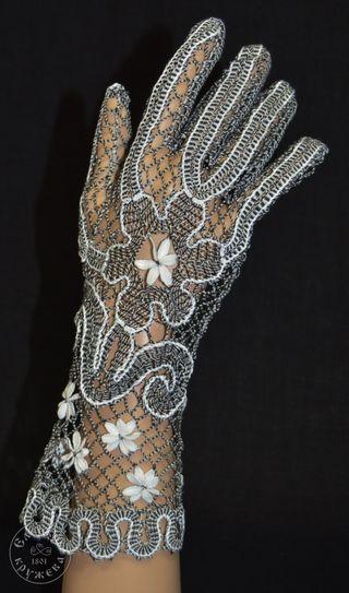 Women's gloves lace С2293