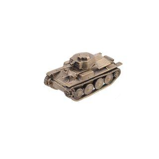 Model German light tank PZ.KPFW.II 1:100