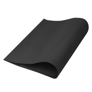 Porous rubber (tamilan) for creativity, BLACK, 50x70 cm, 1 mm, TREASURE ISLAND