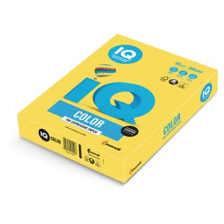 IQ COLOR / A4 paper, 80 g / m2, 500 sheets, intensive, canary yellow