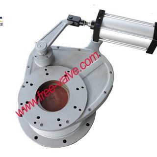 Pneumatic Swing Ceramic Feed Gate Valve in coal power plant,Pneumatic  Ceramic Rotary Discharge Ash Gate Valve