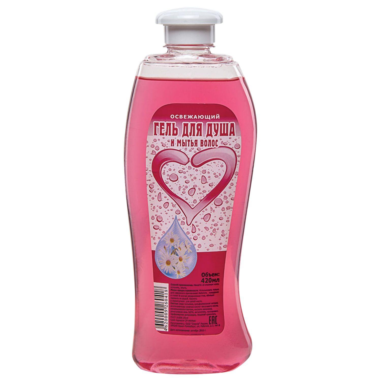 "Shower and Hair Wash Gel 420 ml, ""Refreshing"""
