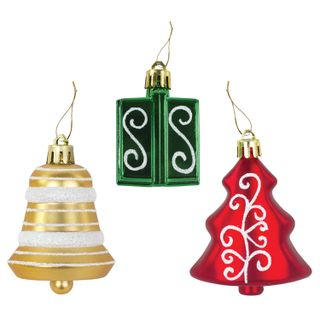 A set of decorations for the fir tree GOLDEN TALE