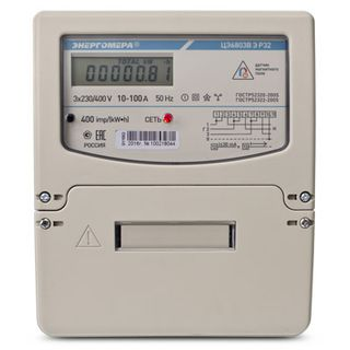 Three Phase Energy Meter ЦЭ6803В Р32