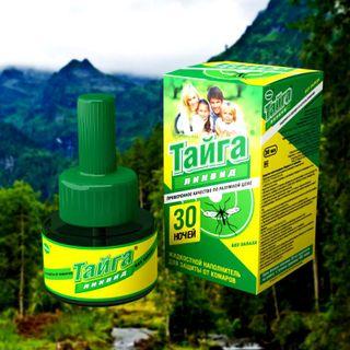 Taiga Liquid liquid from mosquitoes 45 nights