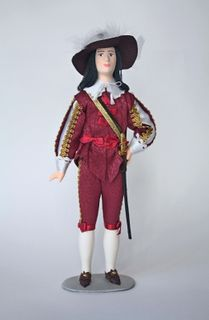 Men's court dress. 1st half of the 18th century. France. Doll gift