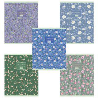 Notebook A5, 96 sheets, HATBER, staple, cage, matte lamination,