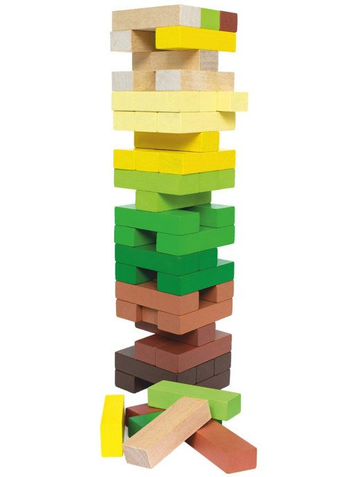 "Tomik / Logic game set ""Tower"" ""Forest"", 54 children."